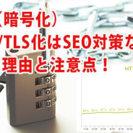 HTTPS(暗号化)常時SSL/TLS化はSEO対策なのか?はじめる理由と注意点